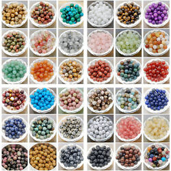 Kyпить Wholesale Natural Gemstone Round Spacer Loose Beads 4mm 6mm 8mm 10mm  на еВаy.соm