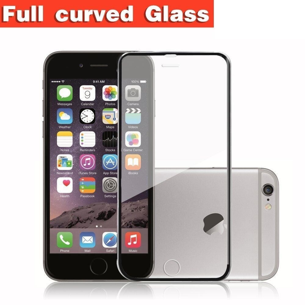 iphone curved screen coverage 3d curved tempered glass screen protector 5694