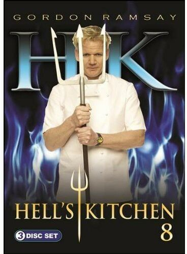 Hell39;s Kitchen: Season 8 [3 Discs] 2012, REGION 1 DVD New  eBay
