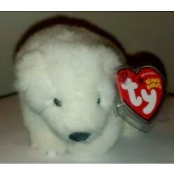 Ty Beanie Baby - ICEPACK the WWF Polar Bear (Internet Excl.) MINT with MINT TAGS