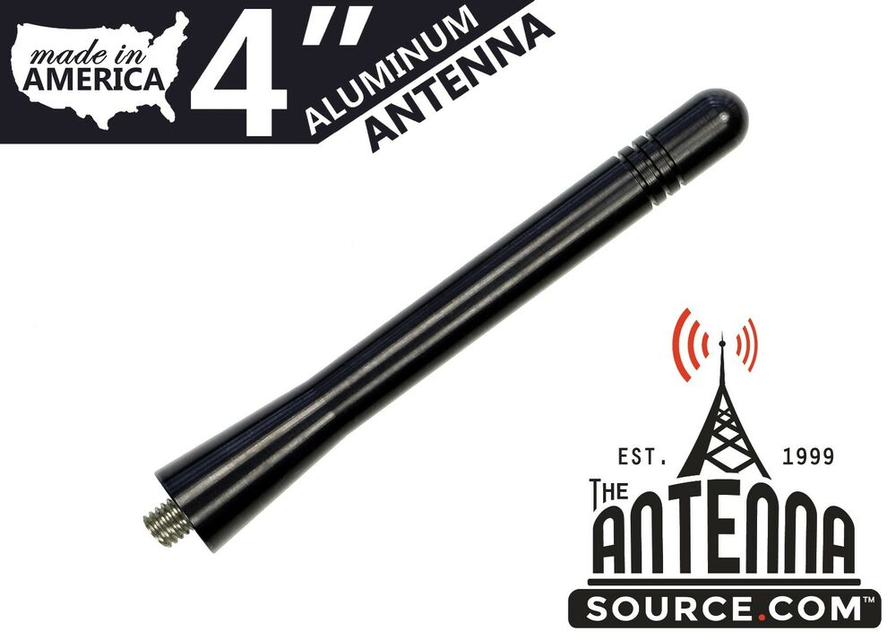 Short 4 Quot Black Aluminum Antenna Mast Fits 2005 2006