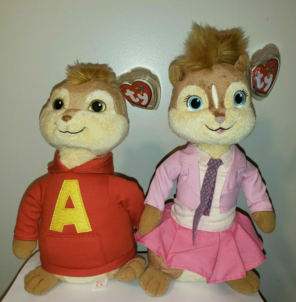 Alvin and the chipmunks plush toys at target