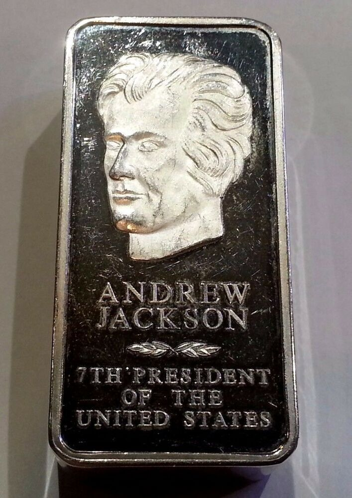 Danbury Mint 1st Edition Andrew Jackson Presidential