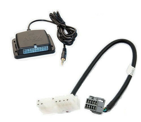Chrysler Radio Auxiliary Audio Input Interface Play Aux Mp3 On Factory