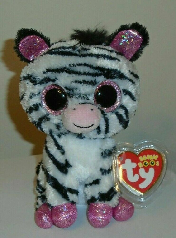 Details about Ty Beanie Boos ~ IZZY the Zebra (6 Inch)(Justice Exclusive)  NEW MWMT c5d4991761a2