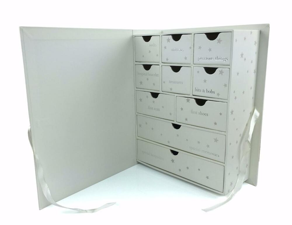 baby compartment keepsake box with icons gift twinkle twinkle little star cg1190 ebay