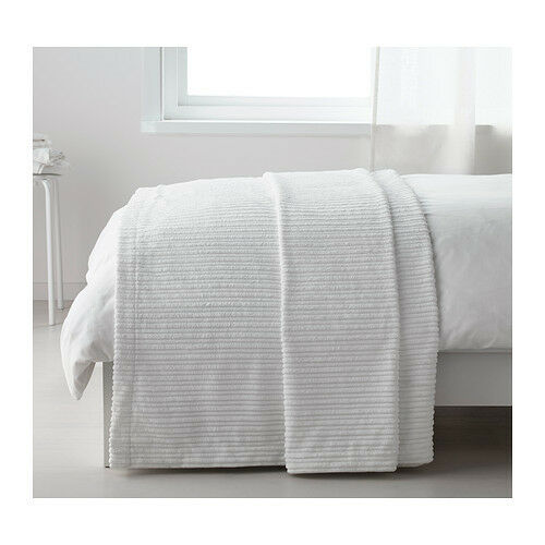 IKEA Tusenskona Queen/King Bedspread White Bedding Blanket