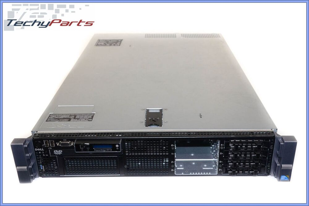 dell poweredge r710 2x e5620 2 4ghz 48gb perc 6 i idrac6 ent 2x ps 2u server ebay. Black Bedroom Furniture Sets. Home Design Ideas