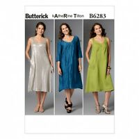 Butterick Ladies Easy Sewing Pattern 6283 Loose Fit Pullover Dress (Butterick...