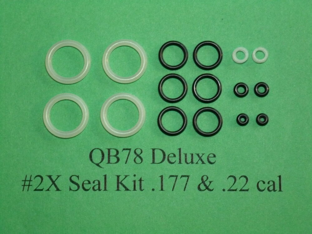 QB78 XS78 TH78 Two (2) Complete O-Ring Reseal Seal Kits  177 &  22 cal  |  eBay