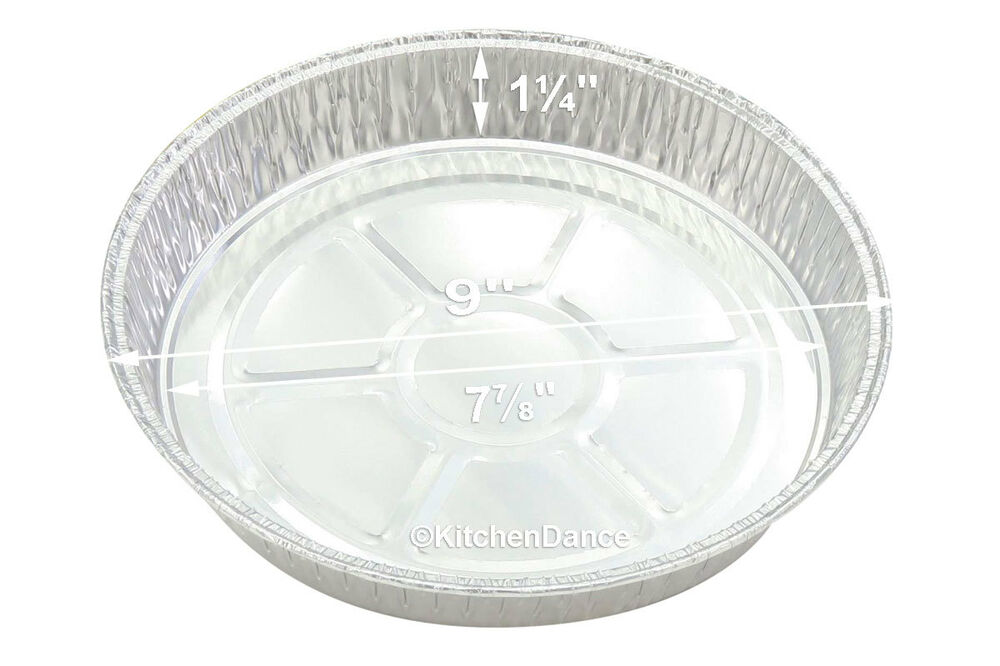 9 Quot Round Disposable Aluminum Cake Pan Pizza Pan Cheesecake