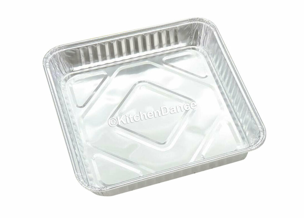 8 X 8 Quot Disposable Aluminum Square Cake Pan Baking Pan