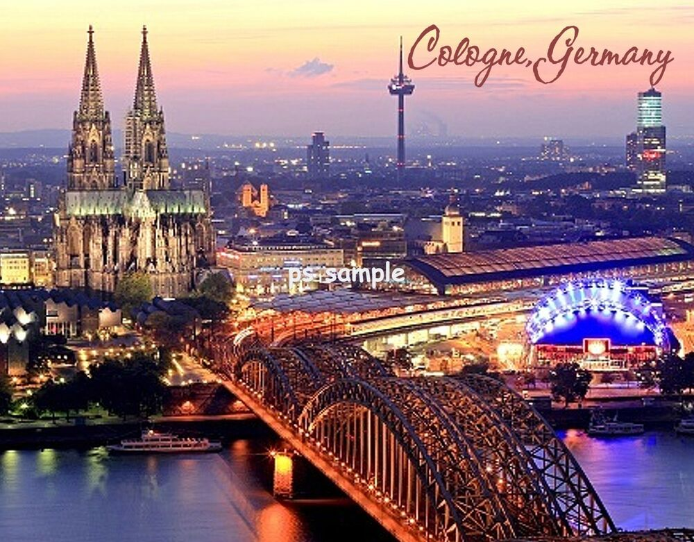 germany cologne travel souvenir fridge magnet ebay. Black Bedroom Furniture Sets. Home Design Ideas