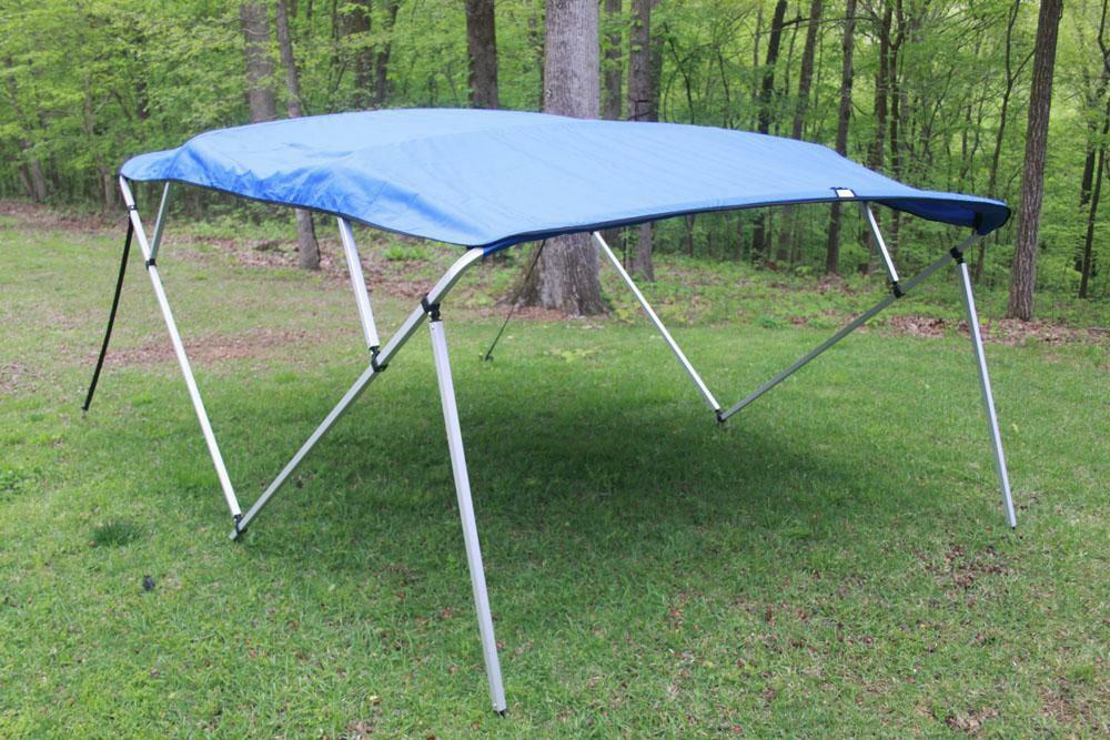 NEW VORTEX SQUARE TUBE FRAME 4 BOW PONTOON/DECK BOAT ...