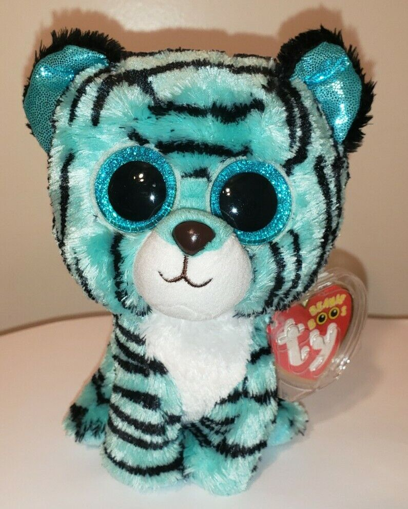 6c5d33d294e Details about Ty Beanie Boos - TESS the Tiger (6 Inch)(Justice Exclusive)  NEW MWMT