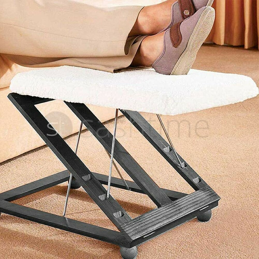 Comfortable Height Amp Angle Adjustable Footrest Foot Stool