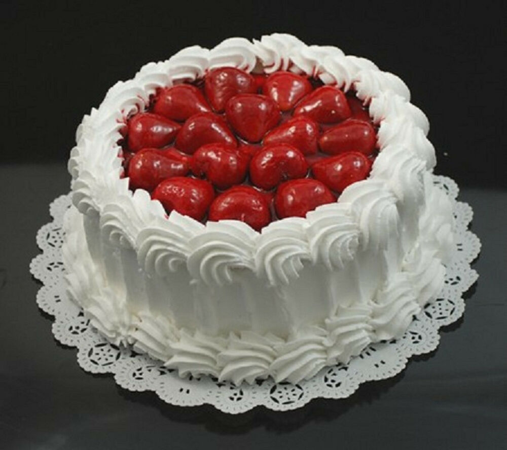 Faux Cakes And Pies
