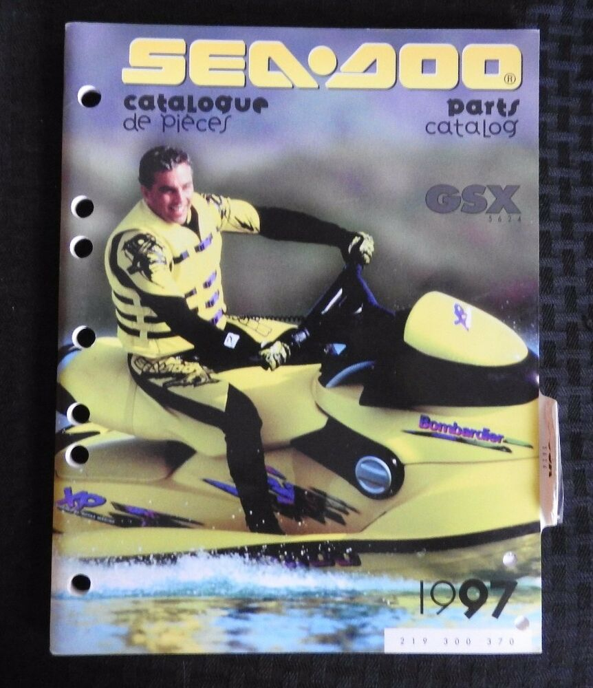 GENUINE 1997 SEA DOO GSX 5624 JET SKI WATERCRAFT WAVERUNNER PARTS MANUAL  NICE | eBay