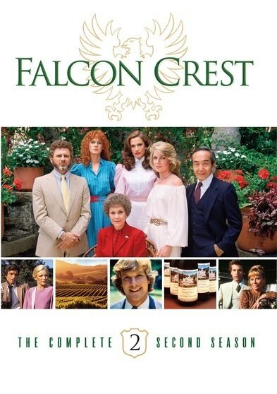 FALCON CREST COMPLETE SEASON 2 New Sealed 6 DVD Set Warner ...