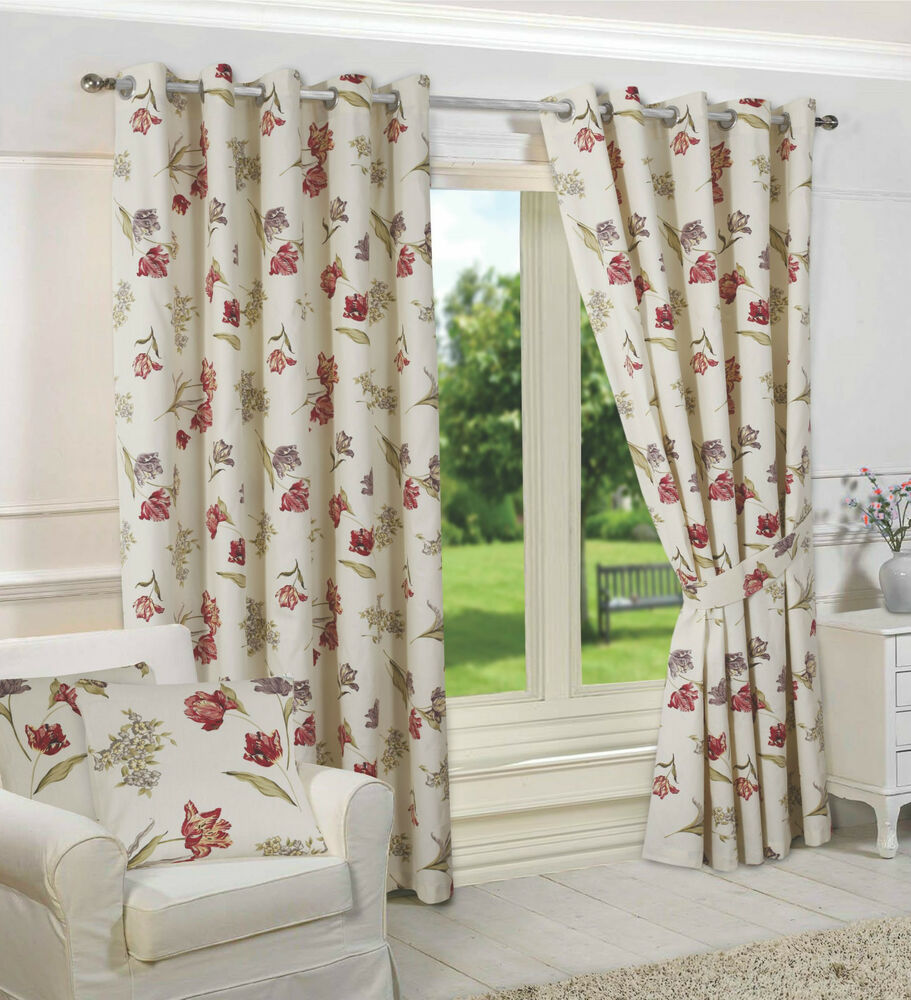 Dunelm Mill Kitchen Curtains Shabby Chic Curtains Ebay