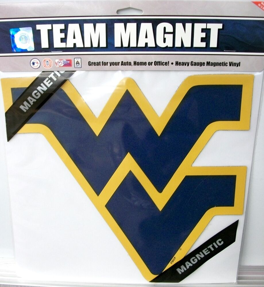 West Virginia Mountaineer's WV Car Magnet | eBay