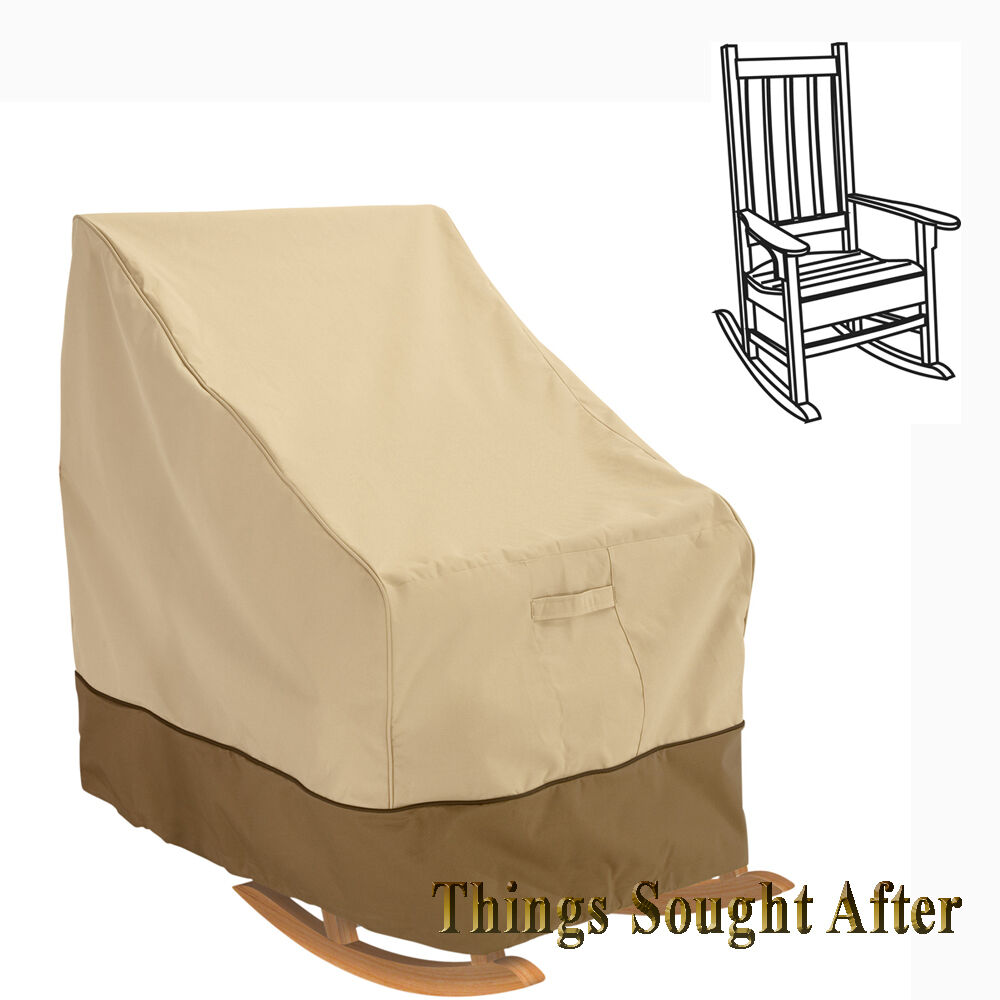 Cover For Med Rocking Chair Outdoor Furniture Porch Rocker