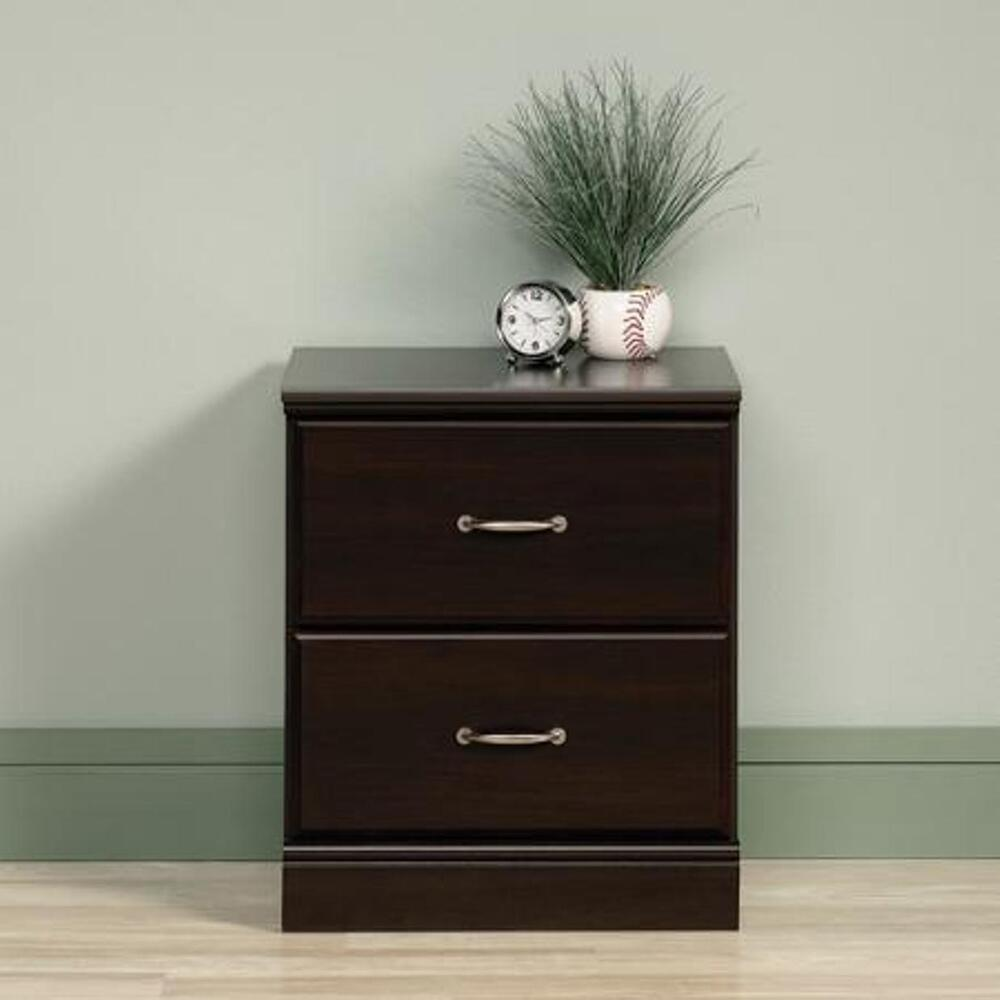 2 Drawer Nightstand Side Night End Table Bedside Storage