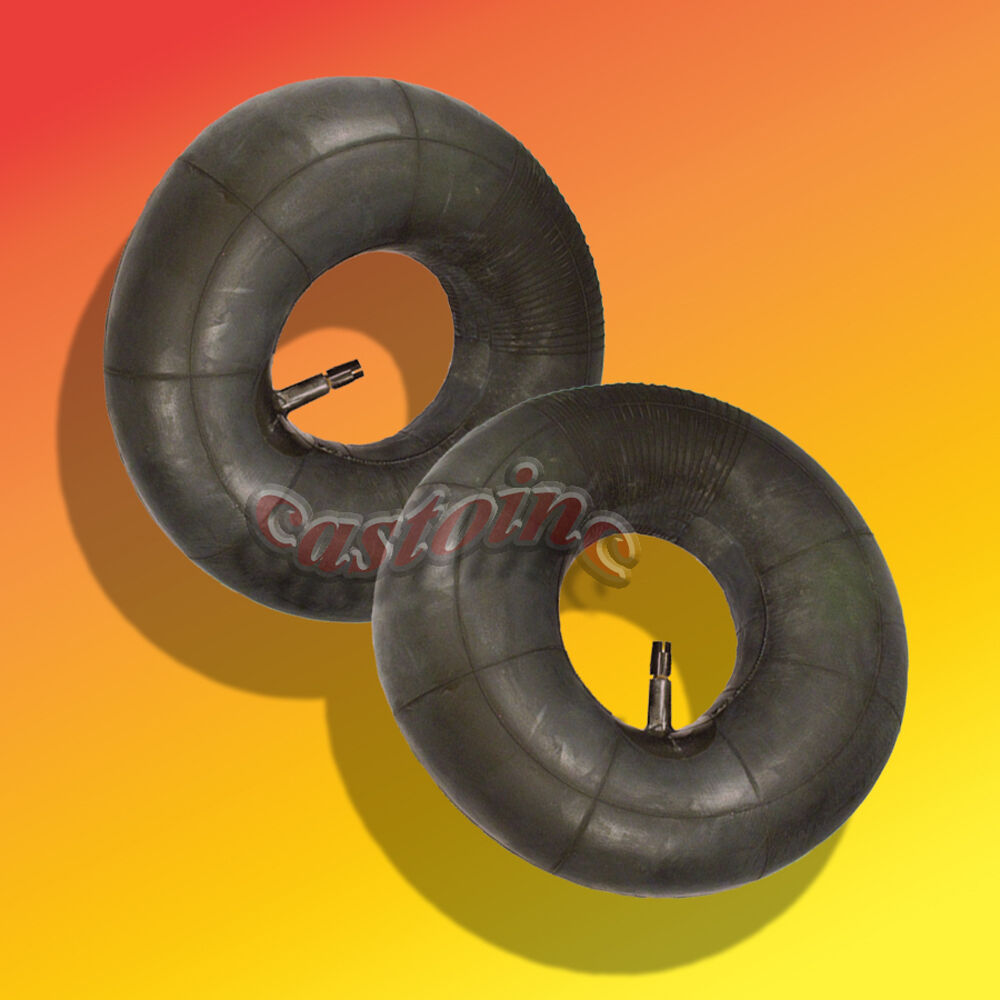 2 Tire Inner Tube 20x10x8 Straight Valve Stem Riding Lawn