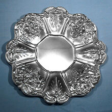 REED & BARTON STERLING SANDWICH PLATE ~ FRANCIS I ~ NO MONO