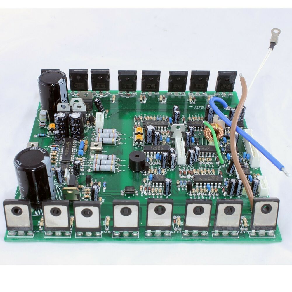 Replacement Secondary Circuit Pcb Board For Boost 3000