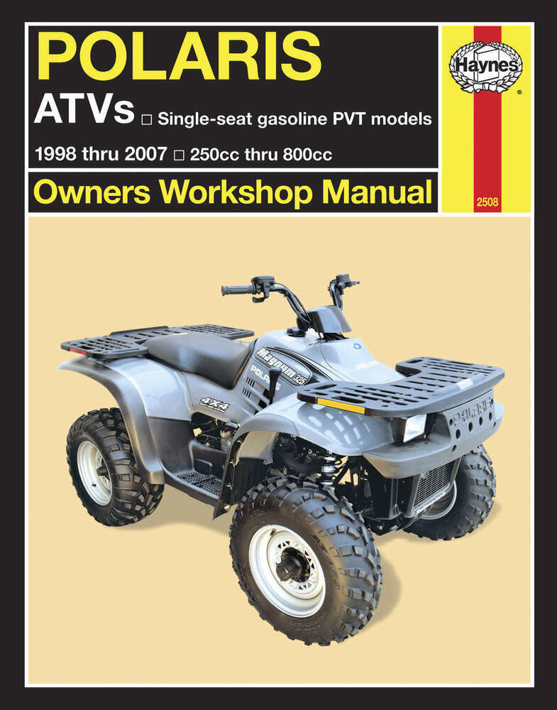 haynes service repair manual polaris atv 39 s gasoline pvt. Black Bedroom Furniture Sets. Home Design Ideas