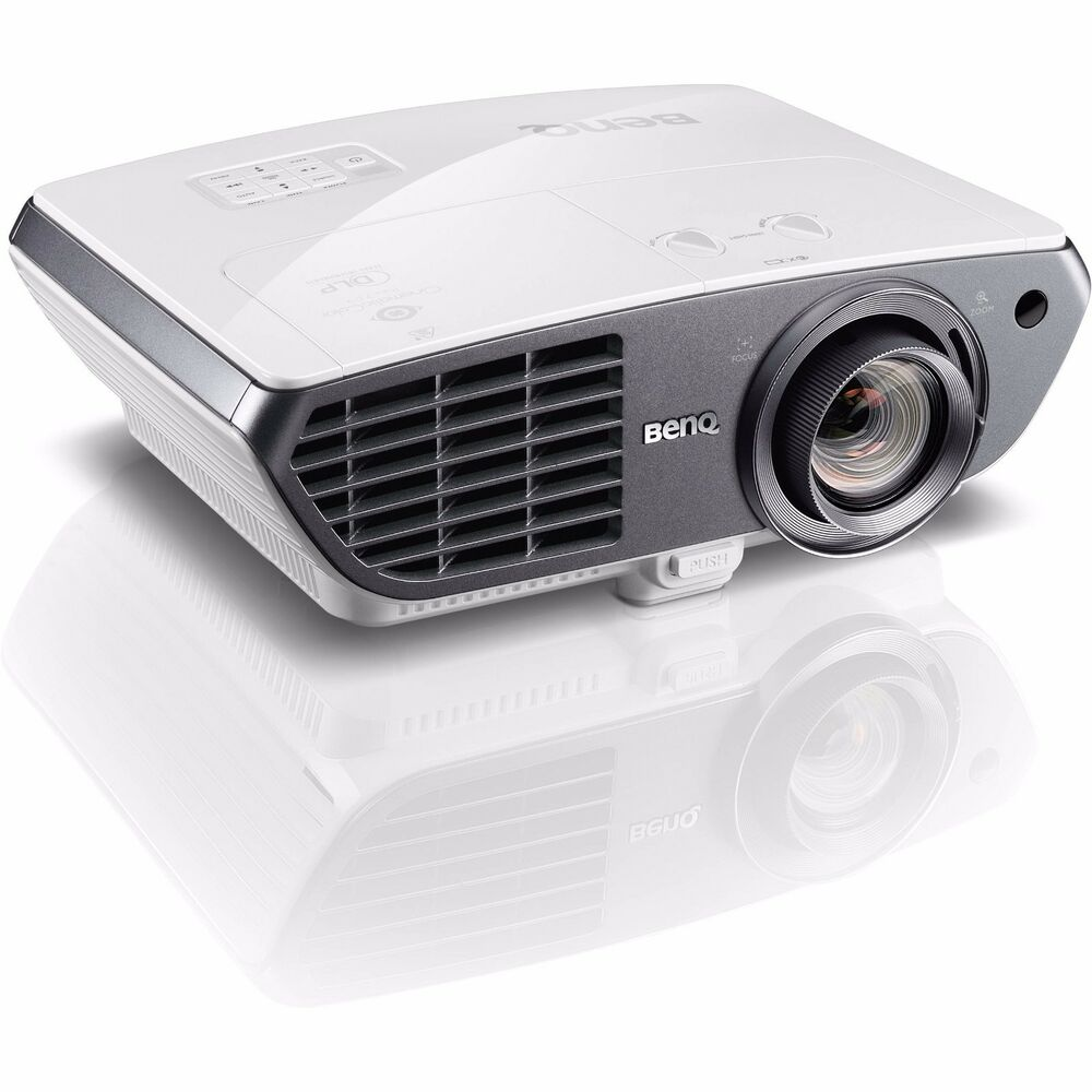 Benq ht4050 3d dlp full hd 1080p home theater gaming for Hdmi projector