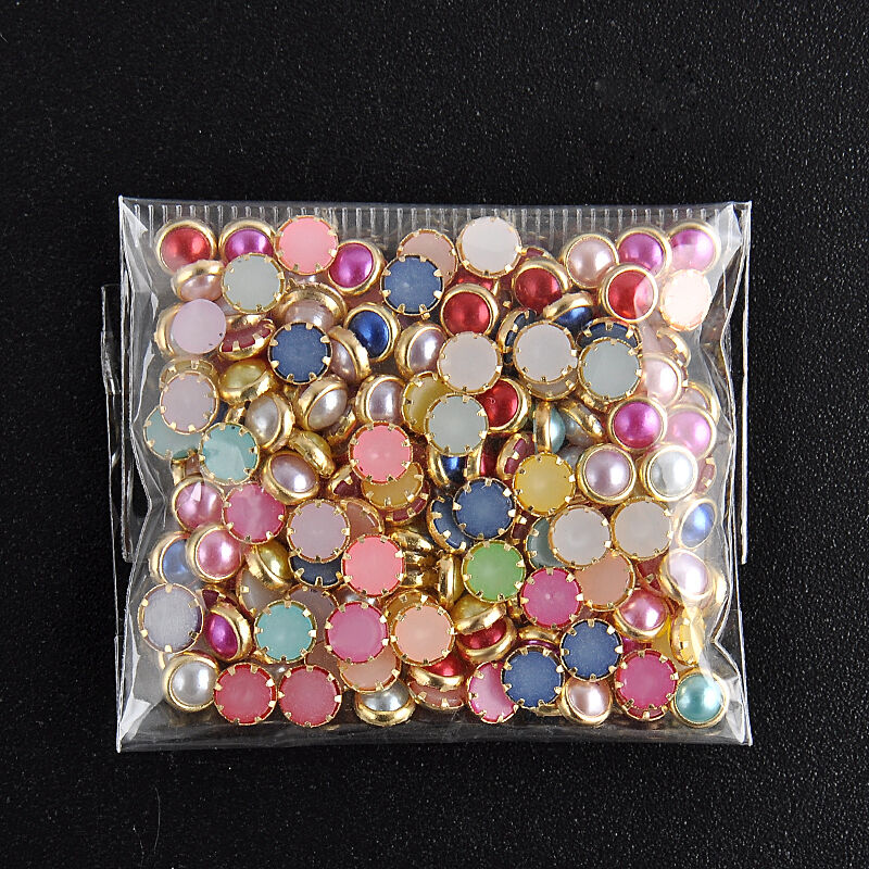 200pcs 3d 4m acrylic decor nail art charms bling for Acrylic decoration