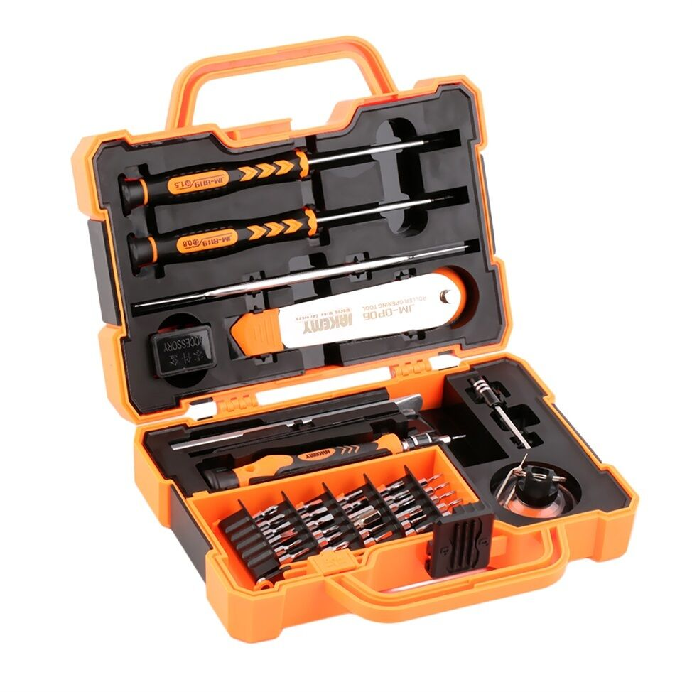 45 in 1 screwdrivers set repair kit opening tools for cellphone computer gk ebay. Black Bedroom Furniture Sets. Home Design Ideas
