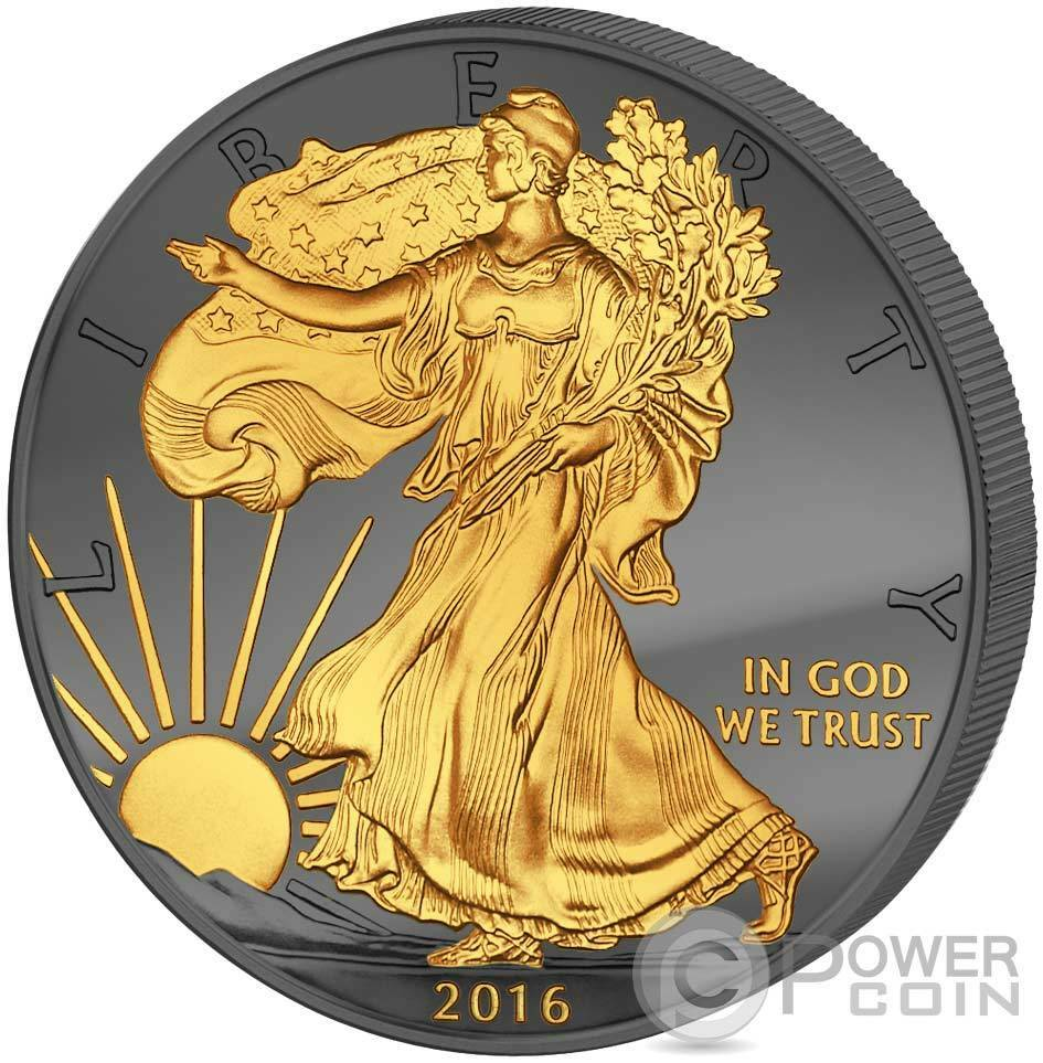 Golden Enigma Walking Liberty 30 Years Eagle Silver Coin 1