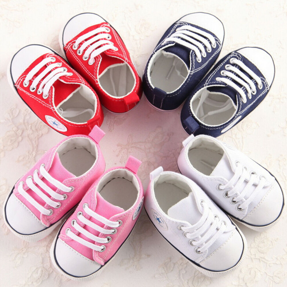 Infant Toddler Baby Boy Girl Soft Sole Crib Shoes Sneaker ...