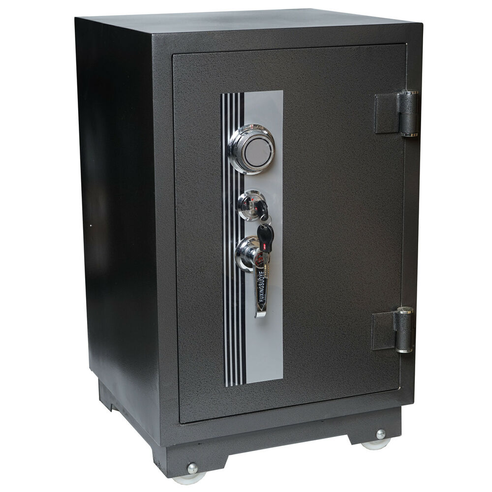 tresor t243 panzerschrank safe 1h feuerfest bis 1010 c 92kg 70x44x44cm ebay. Black Bedroom Furniture Sets. Home Design Ideas
