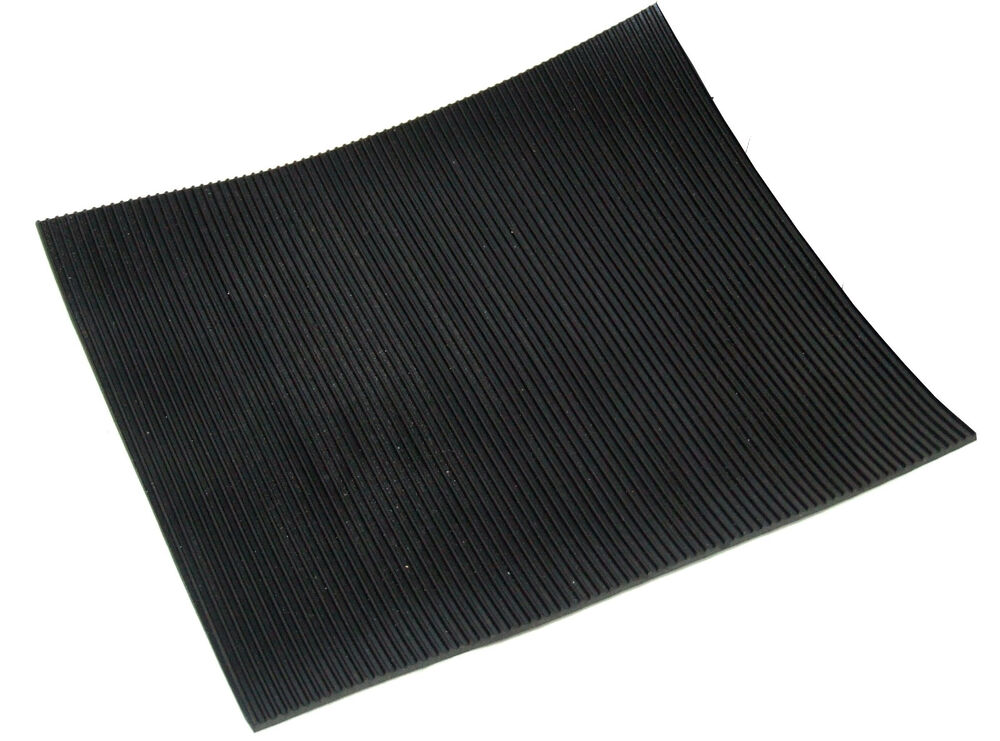 Fine Fluted Rubber Matting X 1 2m Wide 3mm Thick Anti Slip
