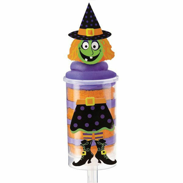 Wilton Cake Pop Decorating Kit : Witch Treat Pop Decorating Kit -12 ct from Wilton #7096 ...