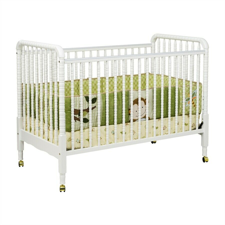 DaVinci Jenny Lind 3-in-1 Convertible Crib in White ...