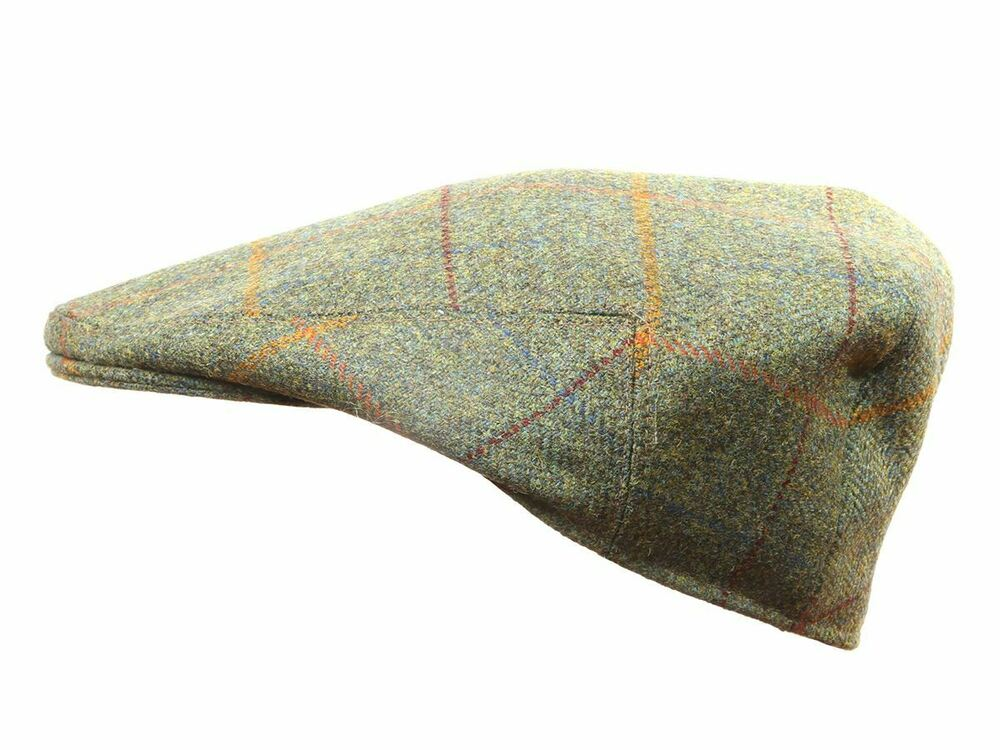 ce65f55e61894 Yorkshire hand tailored wool tweed flat cap Derwent Green MADE IN BRITAIN  hat
