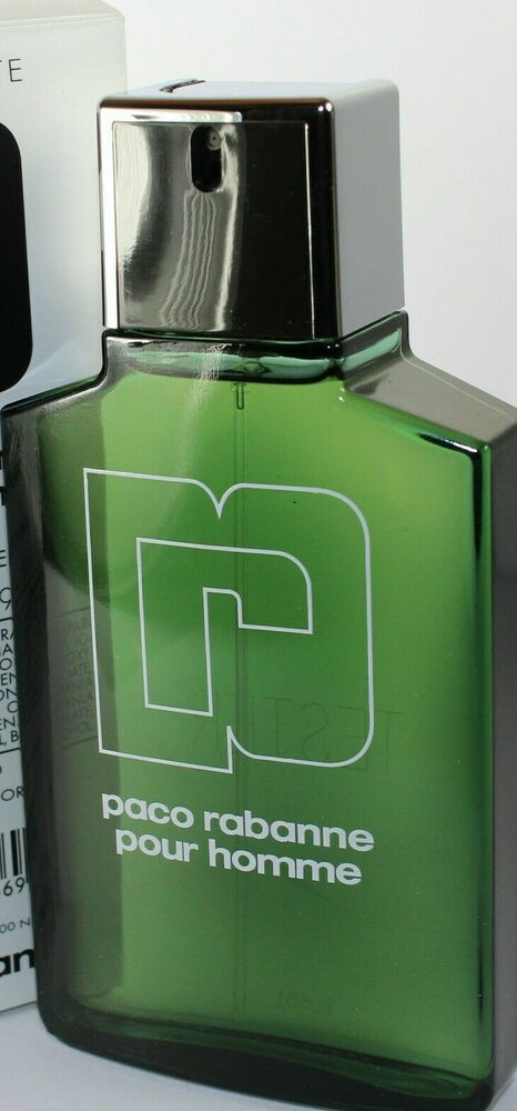 Paco rabanne by paco rabanne 3 4 oz edt tester for men new for Paco by paco rabanne