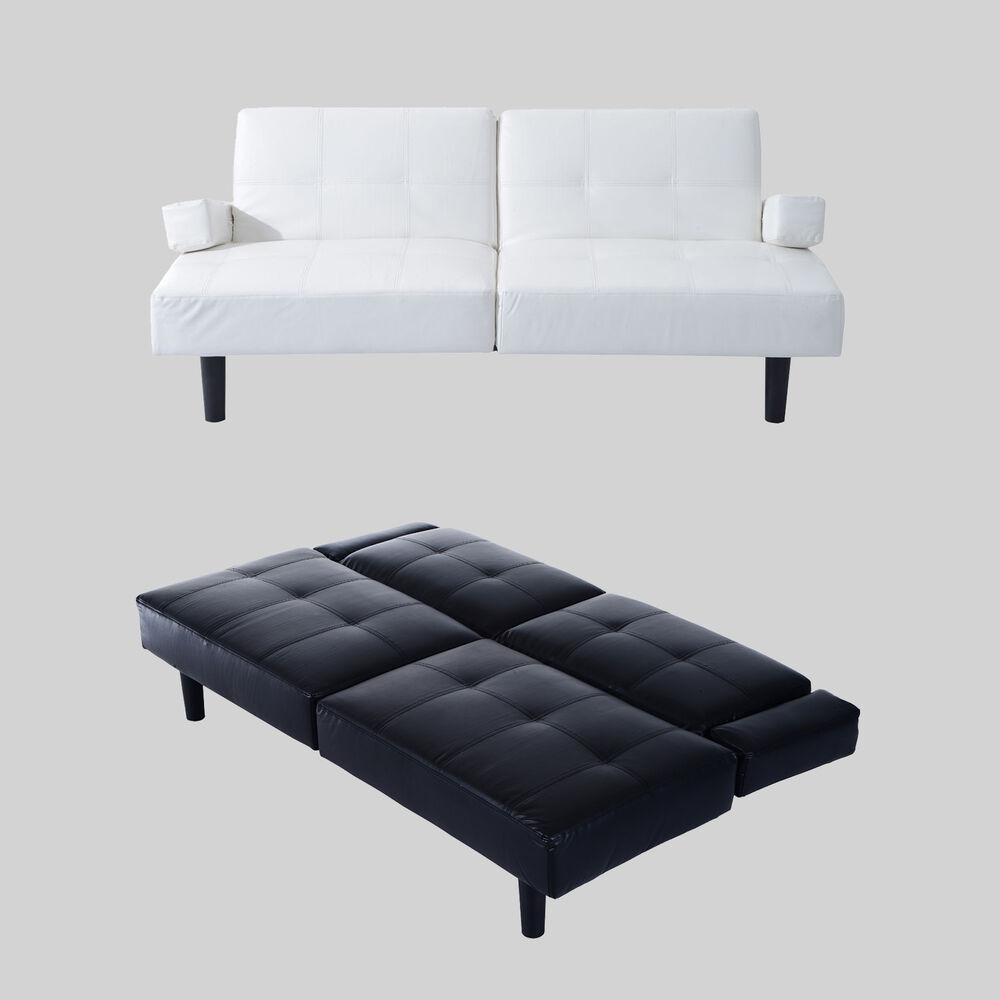 Convertible sofa bed couch sleeper living room furniture for Sofa bed on ebay