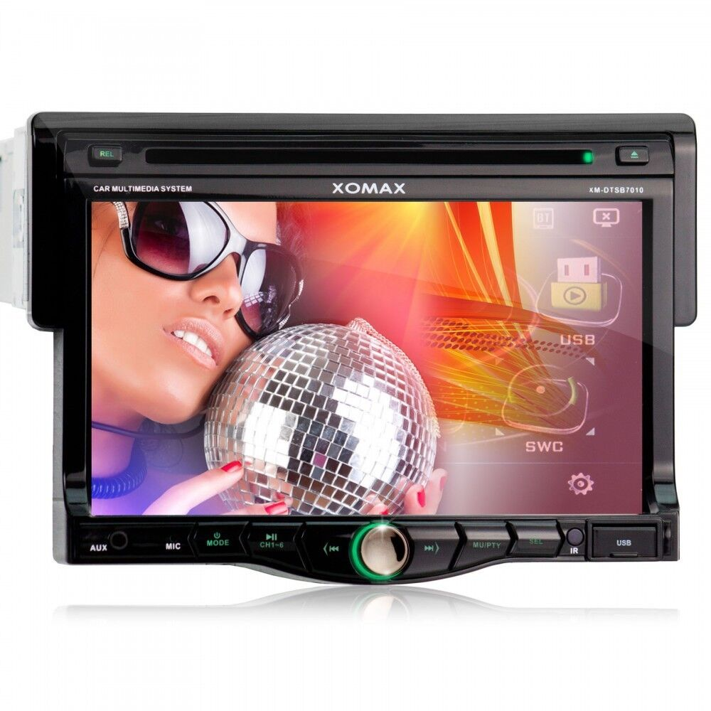 autoradio mit bluetooth 18cm touchscreen dvd cd player usb. Black Bedroom Furniture Sets. Home Design Ideas
