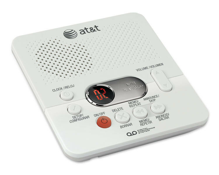 At Amp T 1740 Digital Answering Machine System 60 Minutes