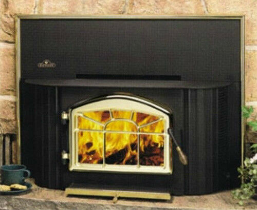 Napoleon EPI 1402M Wood Fireplace Insert With Surround And Blower Included N