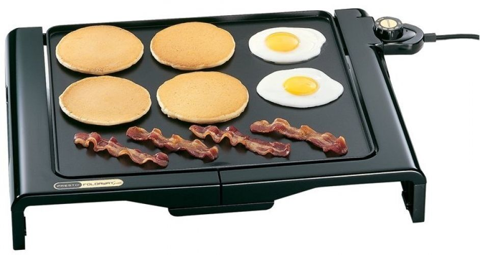 presto 07050 foldaway indoor cool touch electric griddle. Black Bedroom Furniture Sets. Home Design Ideas