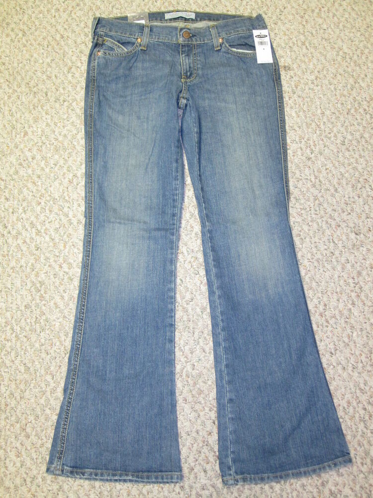 Old Navy Diva Flare Stretch Jeans Low Rise Womens 1 | eBay