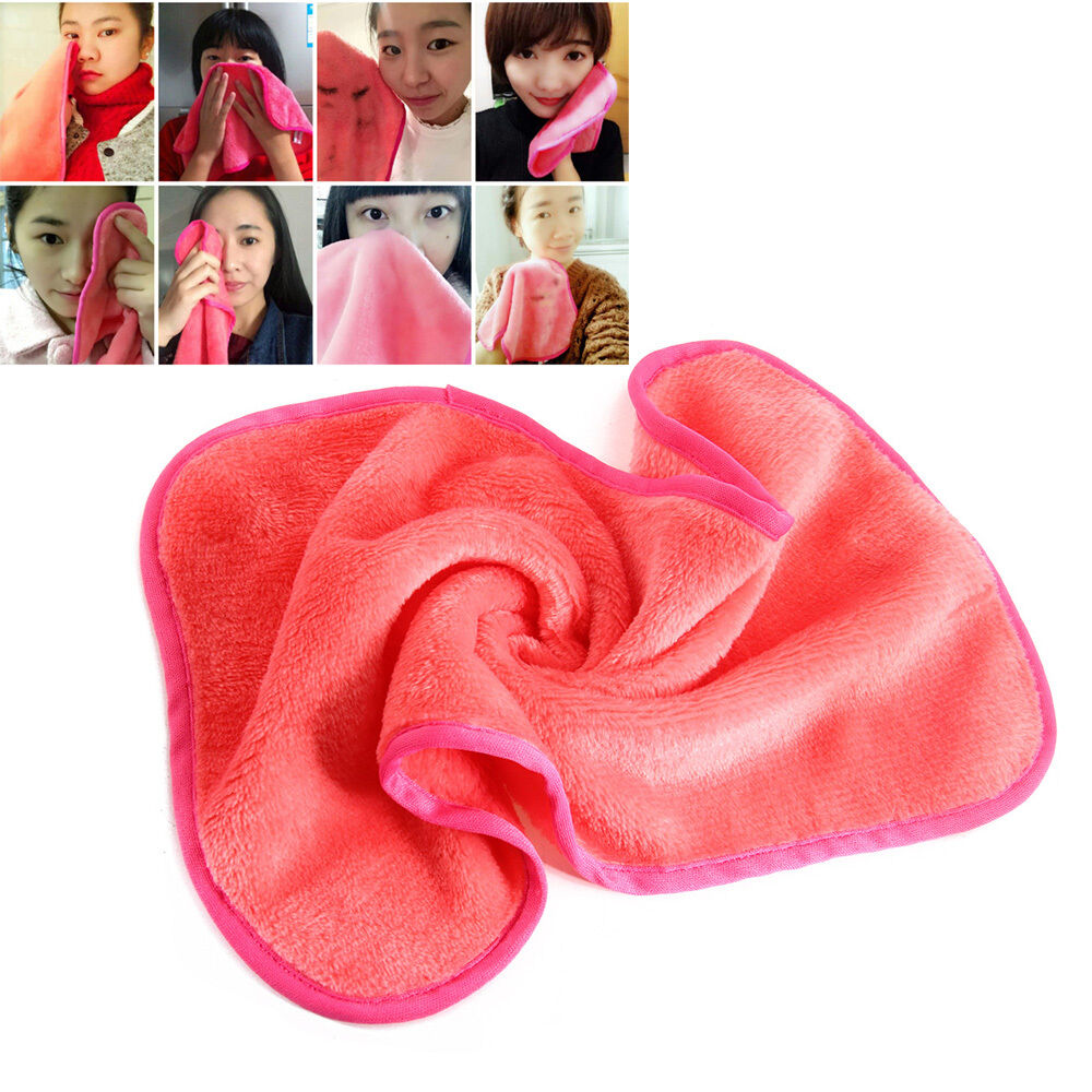 Microfiber Facial Cloth Magic Face Towel Exfoliate Makeup
