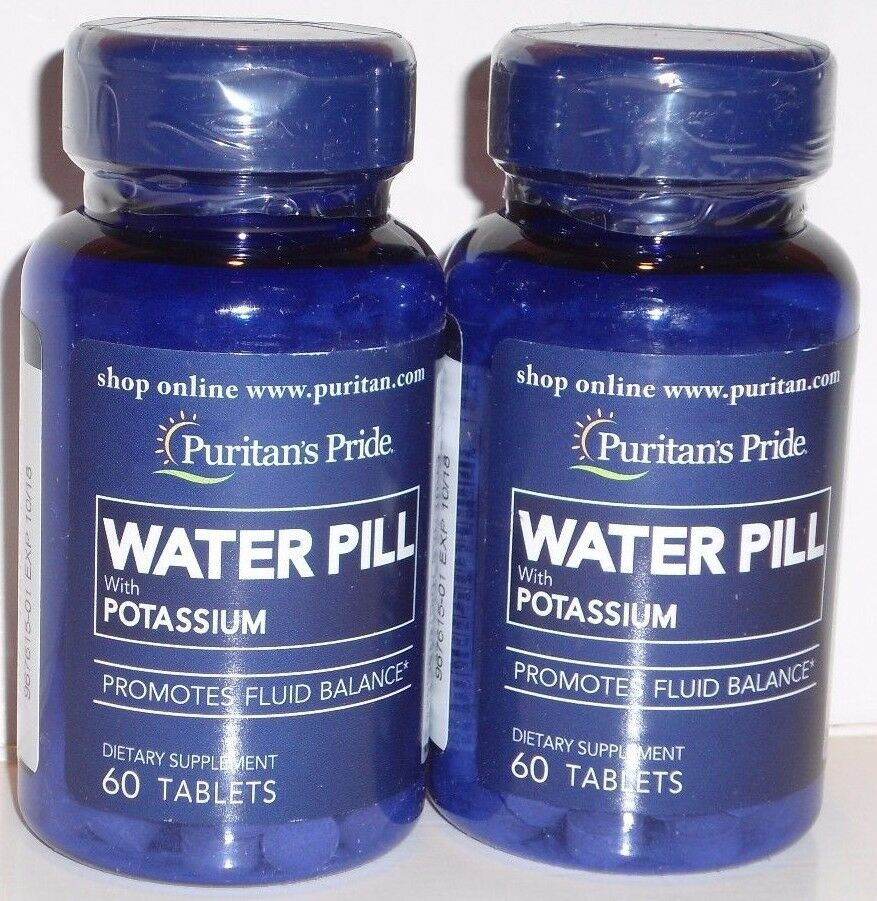 When to take water pills